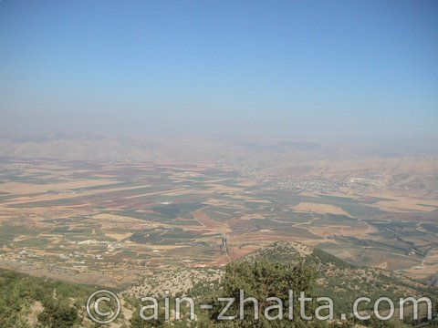 Beqaa valley view from AZ